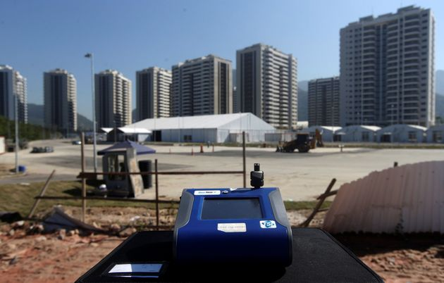 "Brazil falsely declared in its official bid for the Olympic Games that Rio's air quality was ""within..."