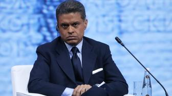 ST PETERSBURG, RUSSIA - JUNE 17, 2016: CNN host Fareed Zakaria looks on duringa plenary session titled 'Capitalizing on the New Global Economic Reality' as part of the 20th St. Petersburg International Economic Forum (SPIEF 2016) at the ExpoForum Convention and Exhibition Centre. Valery Sharifulin/TASS (Photo by Valery Sharifulin\TASS via Getty Images)