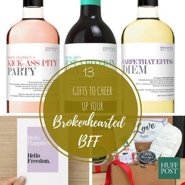 13 Gifts To Cheer Up A Brokenhearted BFF | HuffPost Life