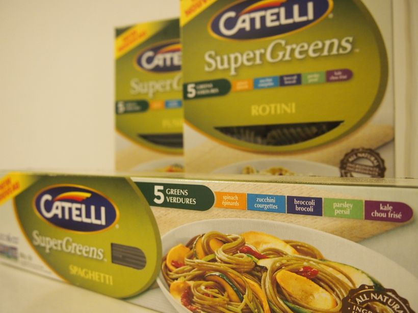 "Catelli's new ""SuperGreens"" line"