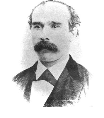 The playwright's Great-Great Uncle Alexander Campbell.