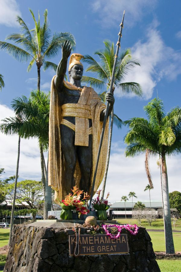 """A man on the Big Island was <a href=""""http://www.staradvertiser.com/breaking-news/man-gets-5-years-for-damaging-statue-of-king"""