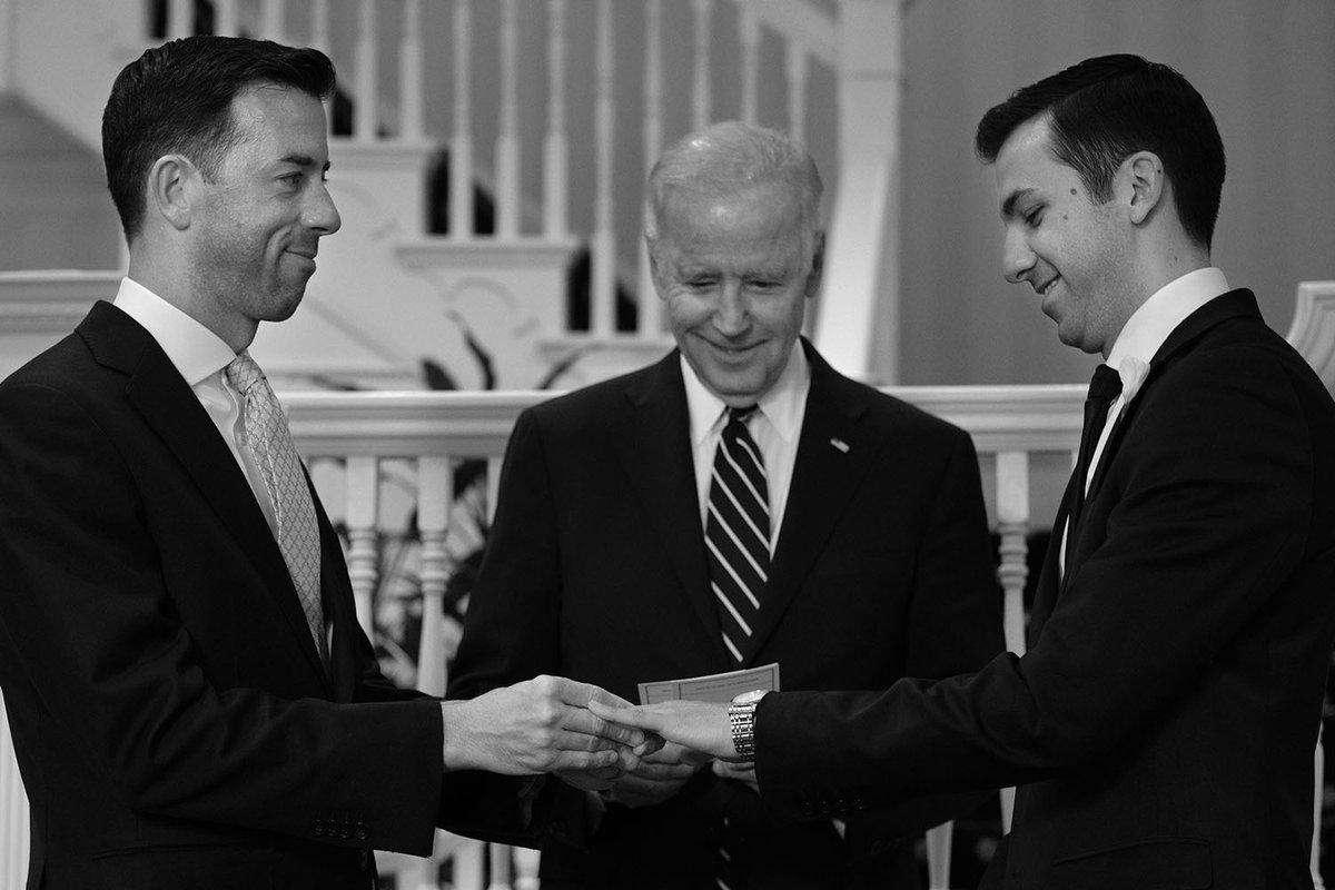 Joe Biden Officiates Same-Sex Wedding For White House
