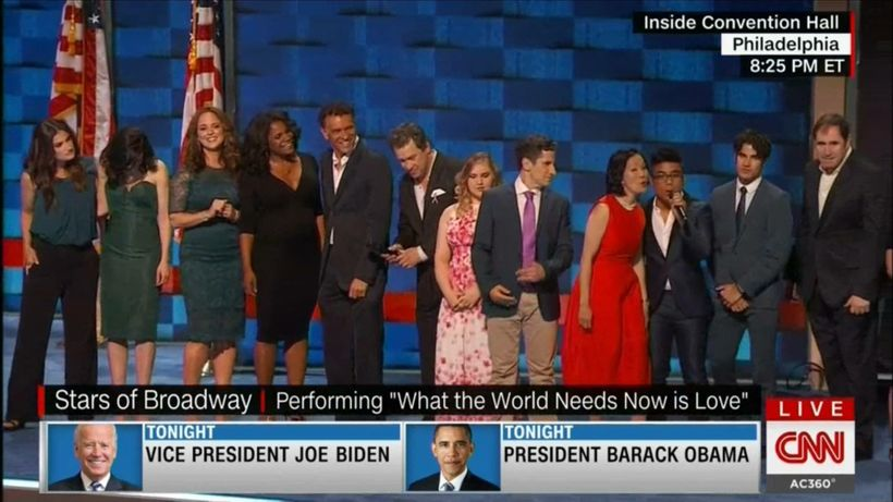 The Cast of Broadway for Orlando