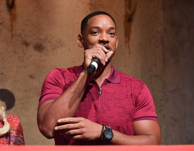 Hollywood actor Will Smith says the way GOP presidential candidate Donald Trump talks about women makes...