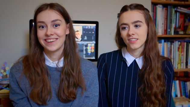 Grace and Amelia Mandeville, AKA The Mandeville Sisters, use YouTube to promote positivity on social