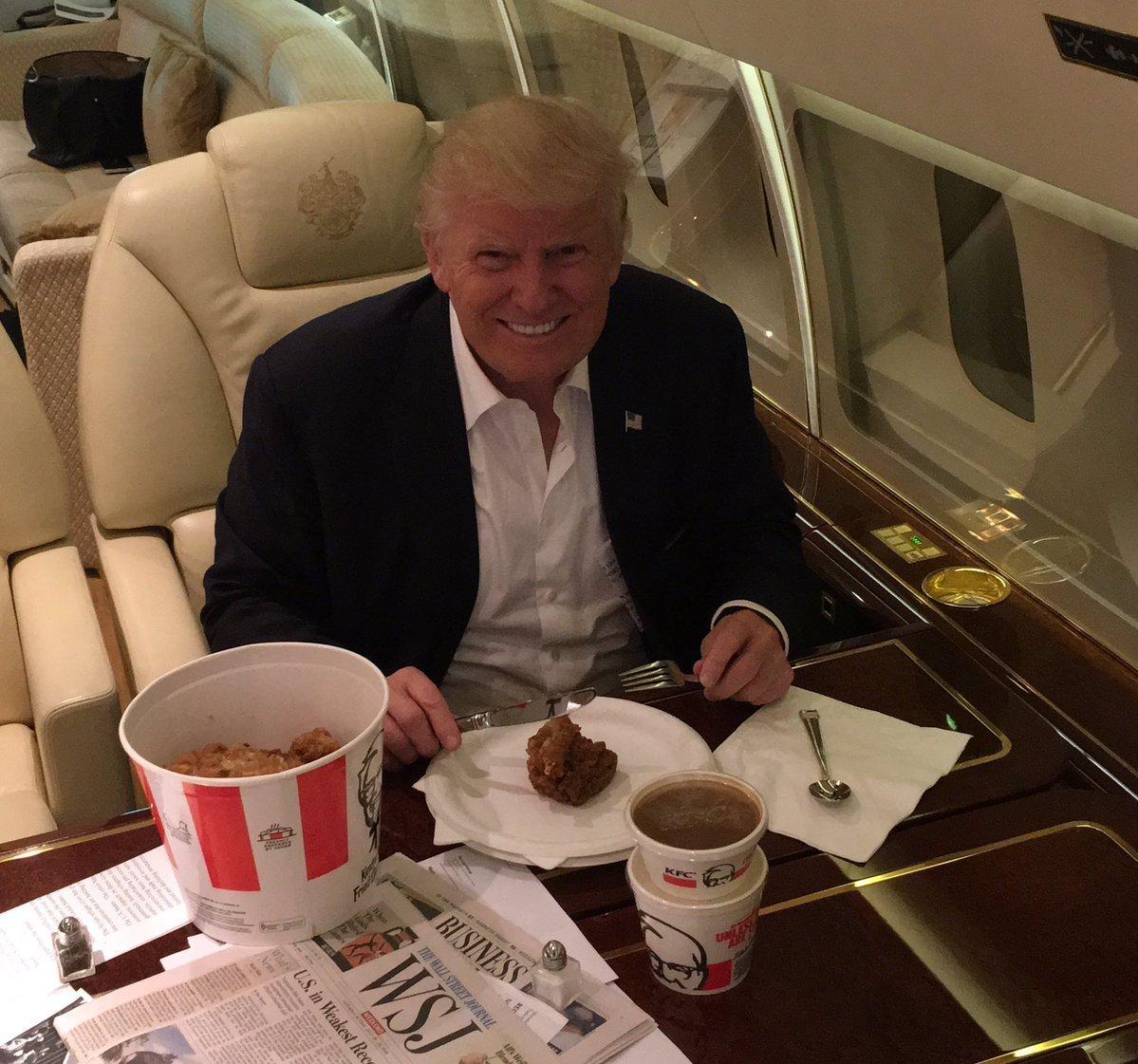 The Way Donald Trump Eats KFC Is A Total