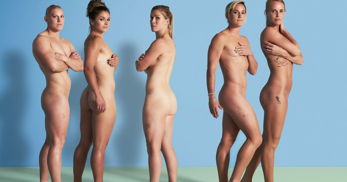 Female olympic athlete naked — pic 15