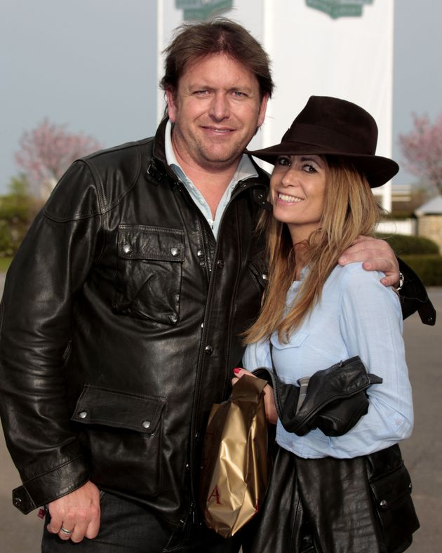 James and Louise pictured together in