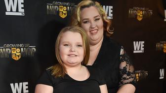 ATLANTA, GA - JANUARY 05:  Television personalities Alana 'Honey Boo Boo' Thompson and Mama June Shannon attend 'Growing Up Hip Hop' Atlanta premiere at SCADshow on January 5, 2016 in Atlanta, Georgia.  (Photo by Paras Griffin/FilmMagic)