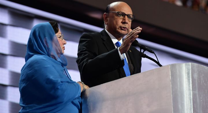 Donald Trump has attacked Humayun Khan's parents for speaking out at the Democratic National Convention.