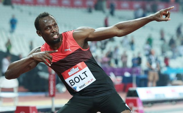 Sure, he can sprint and pose, but can Usain Bolt break 5 minutes in the
