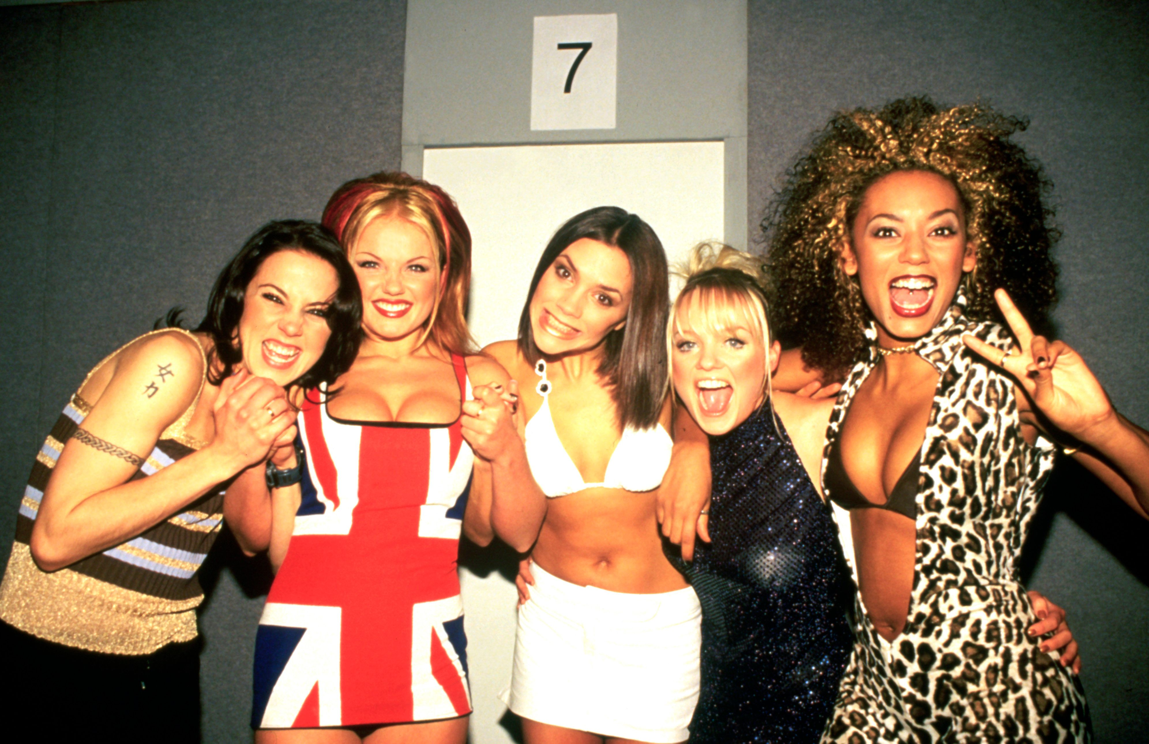 The liaison happened during the Spice Girls'
