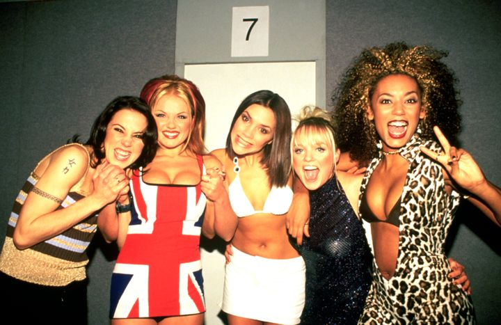 The liaison happened during the Spice Girls' heyday