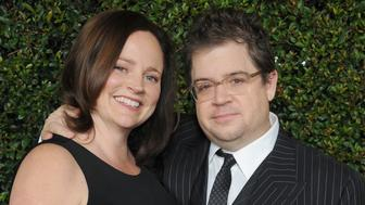 BEVERLY HILLS, CA - DECEMBER 15:  Actor Patton Oswalt and wife Michelle McNamara arrive at the 'Young Adult' Los Angeles Premiere at AMPAS Samuel Goldwyn Theater on December 15, 2011 in Beverly Hills, California.  (Photo by Gregg DeGuire/FilmMagic)