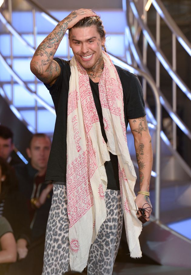 Marco Pierre White Jr was this year's first 'BB'