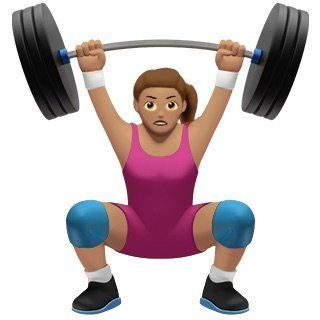 Because women can lift weights, too.