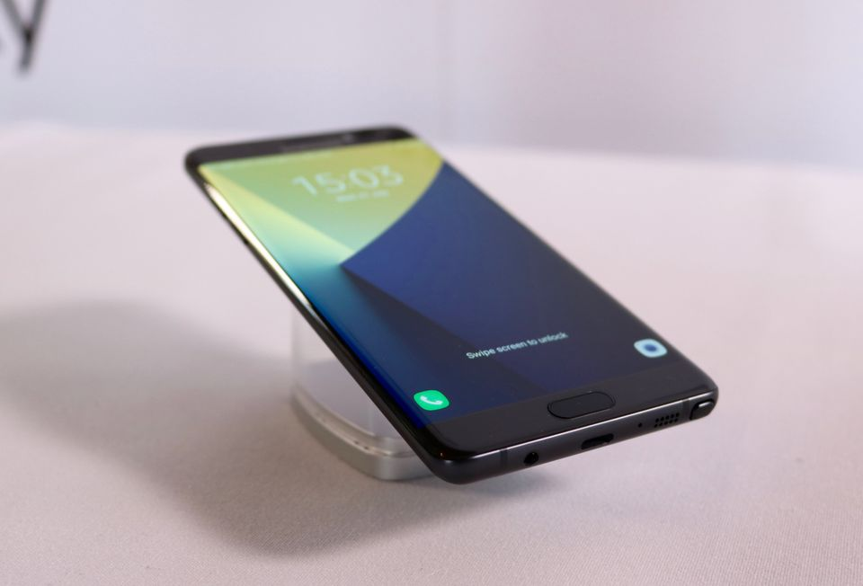 Samsung Galaxy Note 7 Preview: A Smartphone Brimming With