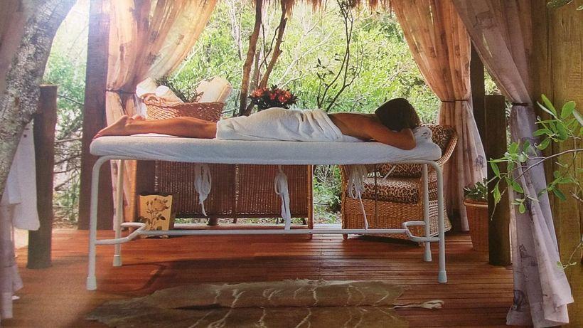 Outdoor spa treatments are environmentally based