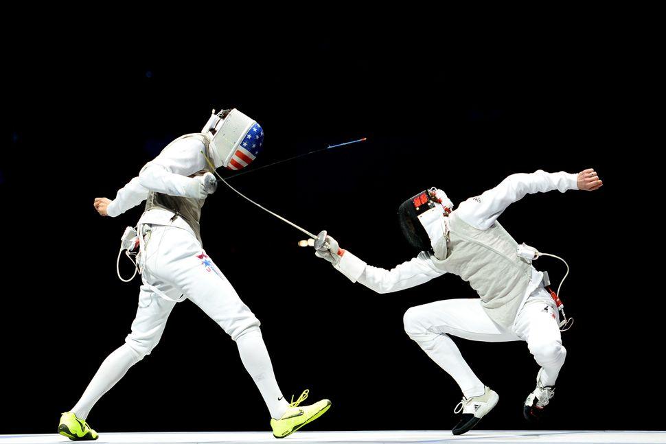 USA (L) vs. Germany (R) at the London 2012 Olympics.