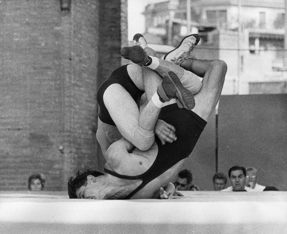 Austria andAustraliacompete atthe Rome 1960 Olympics.