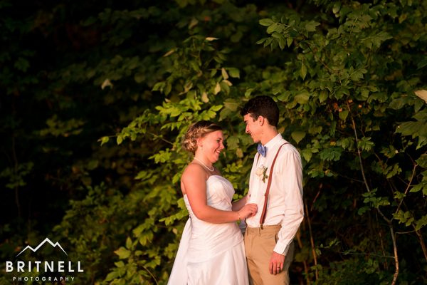 """""""Jake and Ellen got married on Saturday during a beautiful ceremony in Knoxville, Tennessee."""" --<i>David Britnell</i>"""