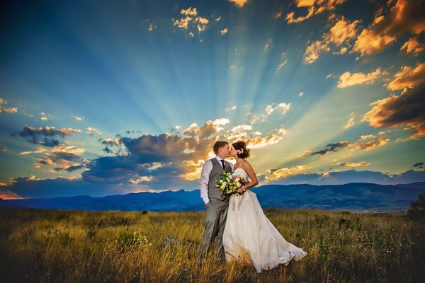 """""""Chad and Kelsey Smith were married July 30 in the Field of Dreams at Chico Hot Springs, Montana."""" --<i>Sarah Notarius<"""