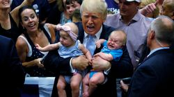 Donald Trump Says He Loves Babies, Then Boots One From His