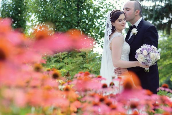 """""""Nicole and Craig said 'I do' in London, Ontario on July 30!"""" - <i>Michelle Sims</i>"""