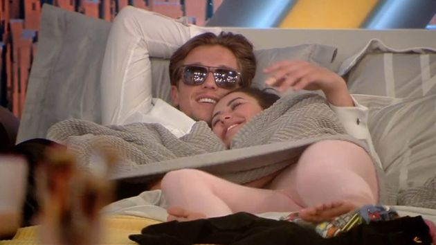 Lewis and Marnie have struck up a relationship in the 'CBB'