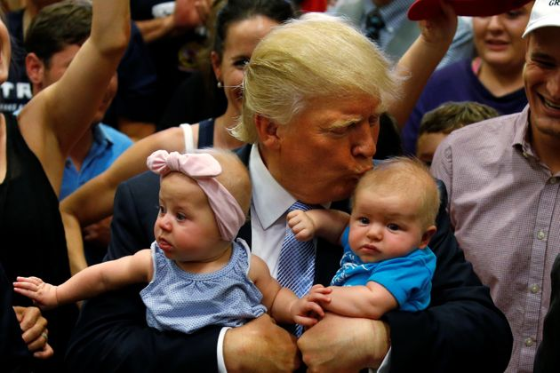 Trump Just Kicked A Baby Out Of A Rally. And Its Mother. An Actual