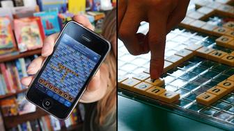 Words with Friends - The Washington Post via Getty Images Scrabble – Reuters