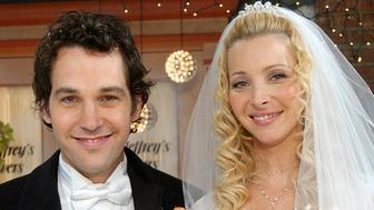 FRIENDS -- 'The One With Phoebe's Wedding' -- Episode 12 -- Aired 02/12/2004 -- Pictured: (l-r) Paul Rudd as Mike Hannigan, Lisa Kudrow as Phoebe Buffay -- Photo by: NBCU Photo Bank