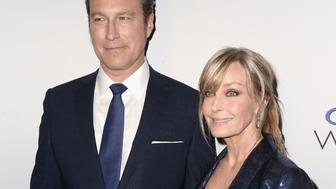 NEW YORK, NEW YORK - MARCH 15:  John Corbett (L) and Bo Derek attend the 'My Big Fat Greek Wedding 2' New York premiere at AMC Loews Lincoln Square 13 theater on March 15, 2016 in New York City.  (Photo by Andrew Toth/FilmMagic)