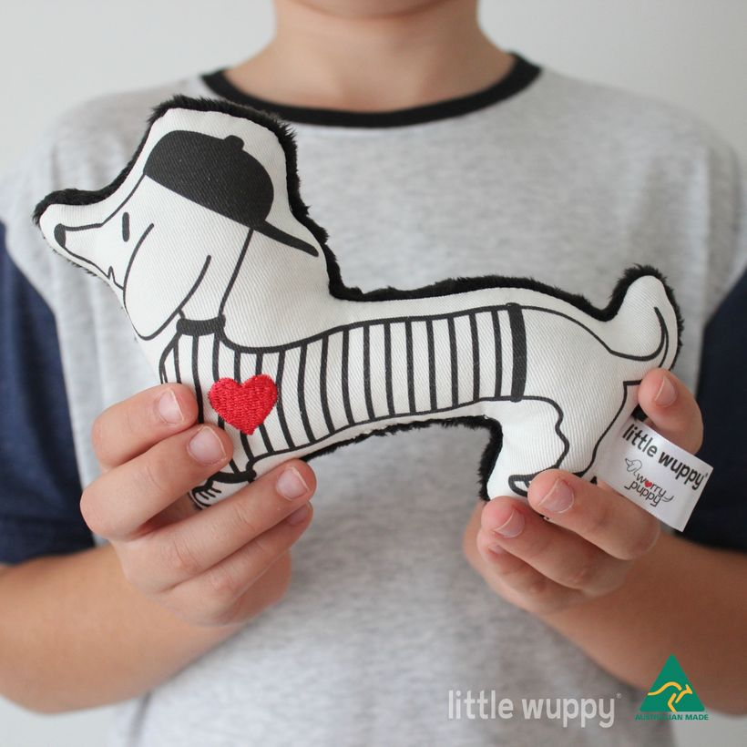 The striped little wuppy®