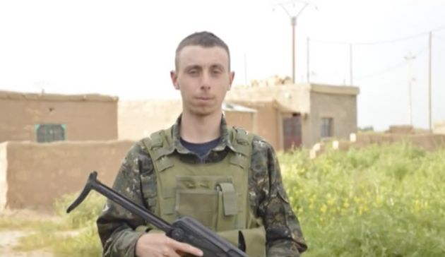 Dean Carl Evans died while fighting Isis militants in the city of