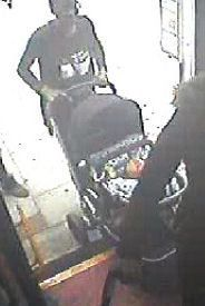Police are searching for awoman (pictured) following an assault on a London bus last