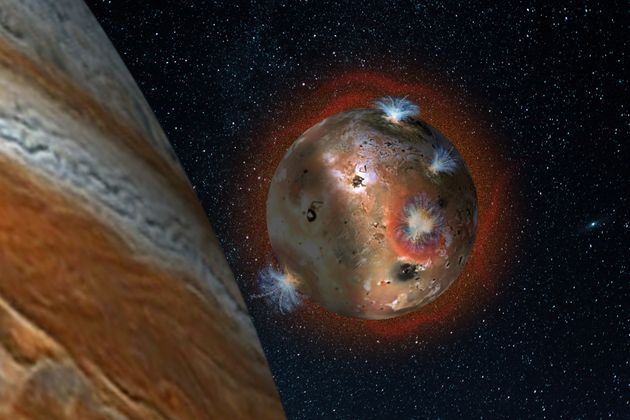 The Atmosphere On Jupiter's Moon Io Is Destroyed And Then Rebuilt Every Single
