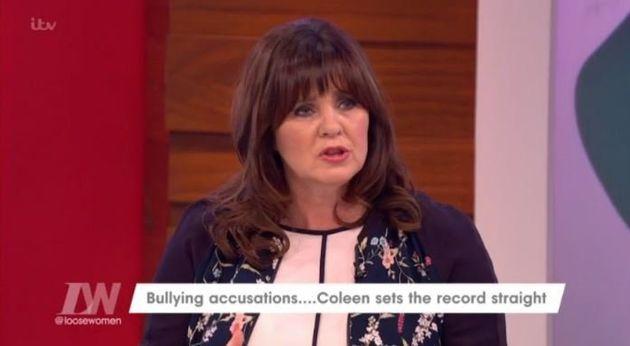 Coleen Nolan has hit back at bullying