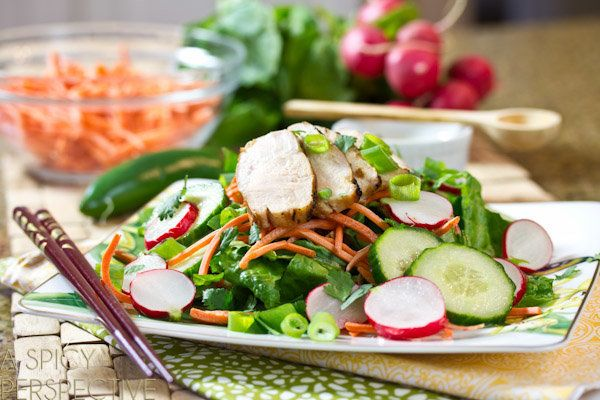 "<strong>Get the <a href=""http://www.aspicyperspective.com/2013/01/vietnamese-chicken-salad.html"" target=""_blank"">Vietnamese B"