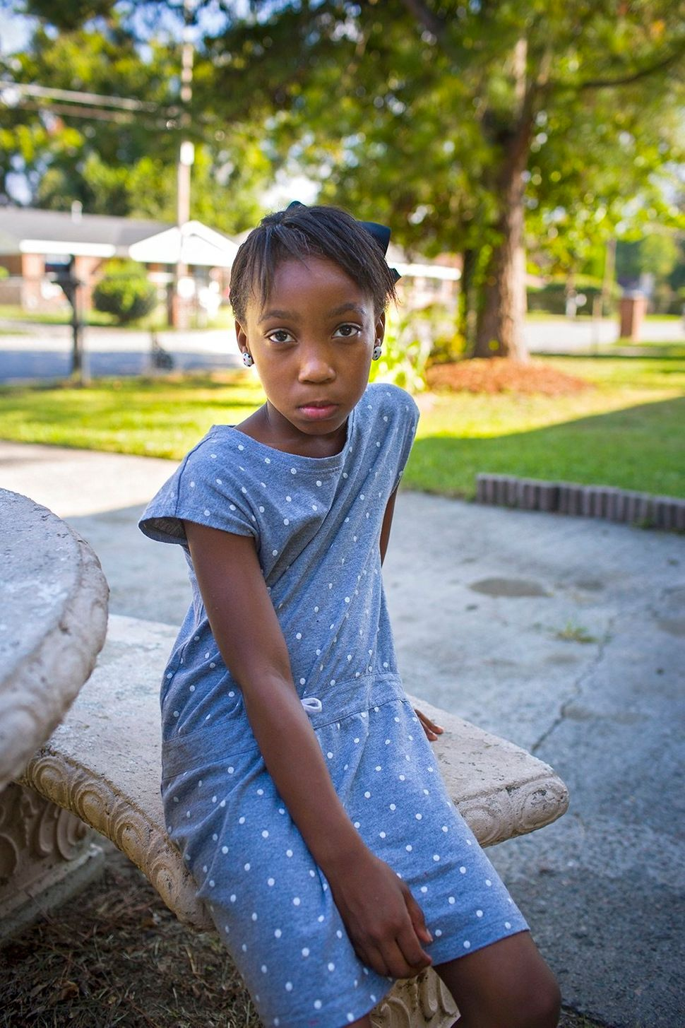 Eight-year-old Taniya was shot by another third-grader in their classroom. The boy had found the gun in his home and brought