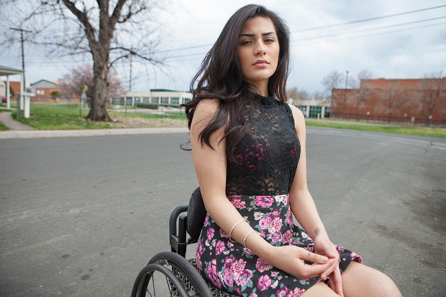 Standing with a group of friends outside of her high school, Karina became the unintended victim of a drive-by shooting fuele