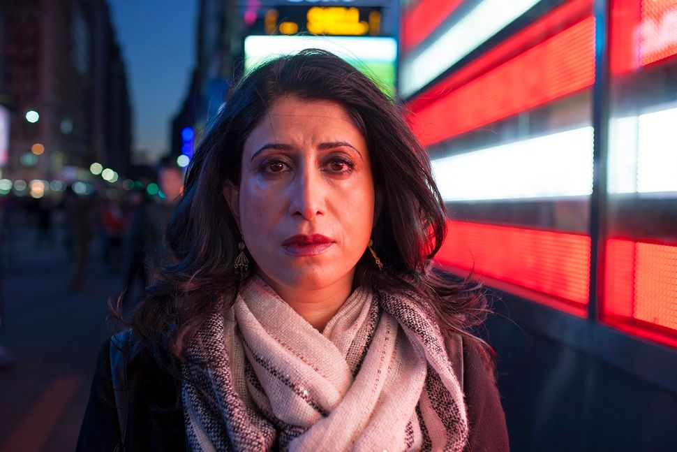 Early one evening Sahar<strong>    </strong>was strolling through Times Square with her cousin when she was hit. A police off