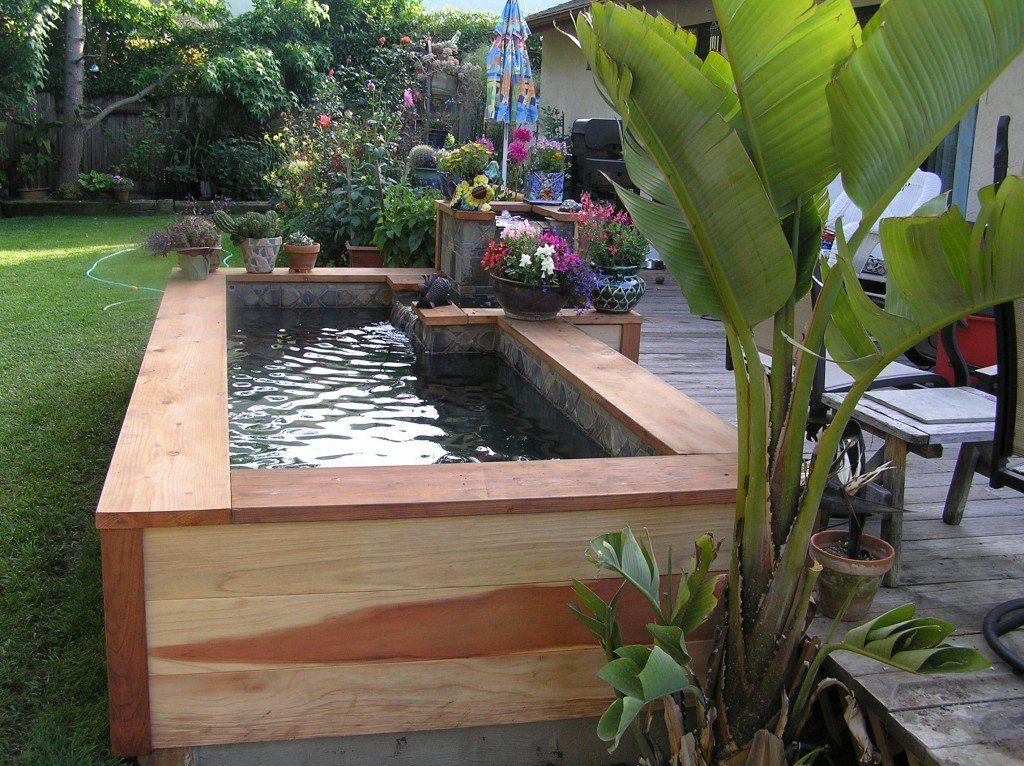 9 wondrous water features perfect for small backyards huffpost life rh huffpost com small landscape water features small backyard water feature ideas