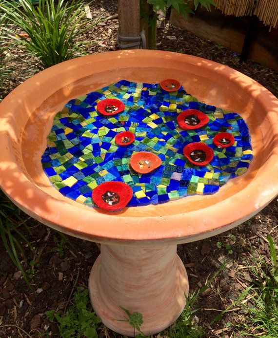Bring a little taste of mosaic art to your backyard.
