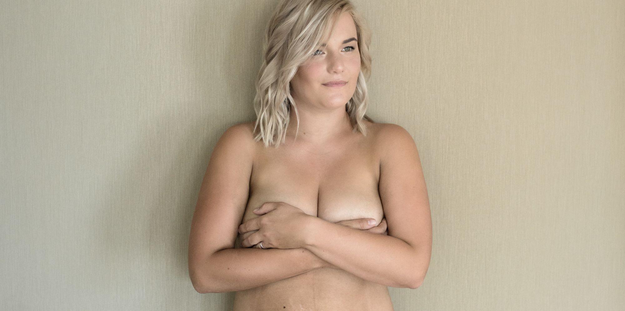 Blonde milf on cam