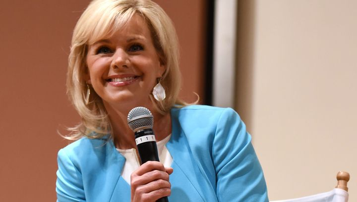 Gretchen Carlson responded to Eric Trump's tone-deaf comments about sexual harassment in the workplace