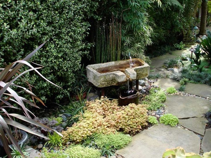 The options are endless for outdoor fountains.