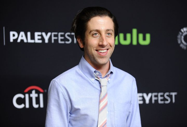 Actor Simon Helberg on March 16, 2016, in Hollywood, California.