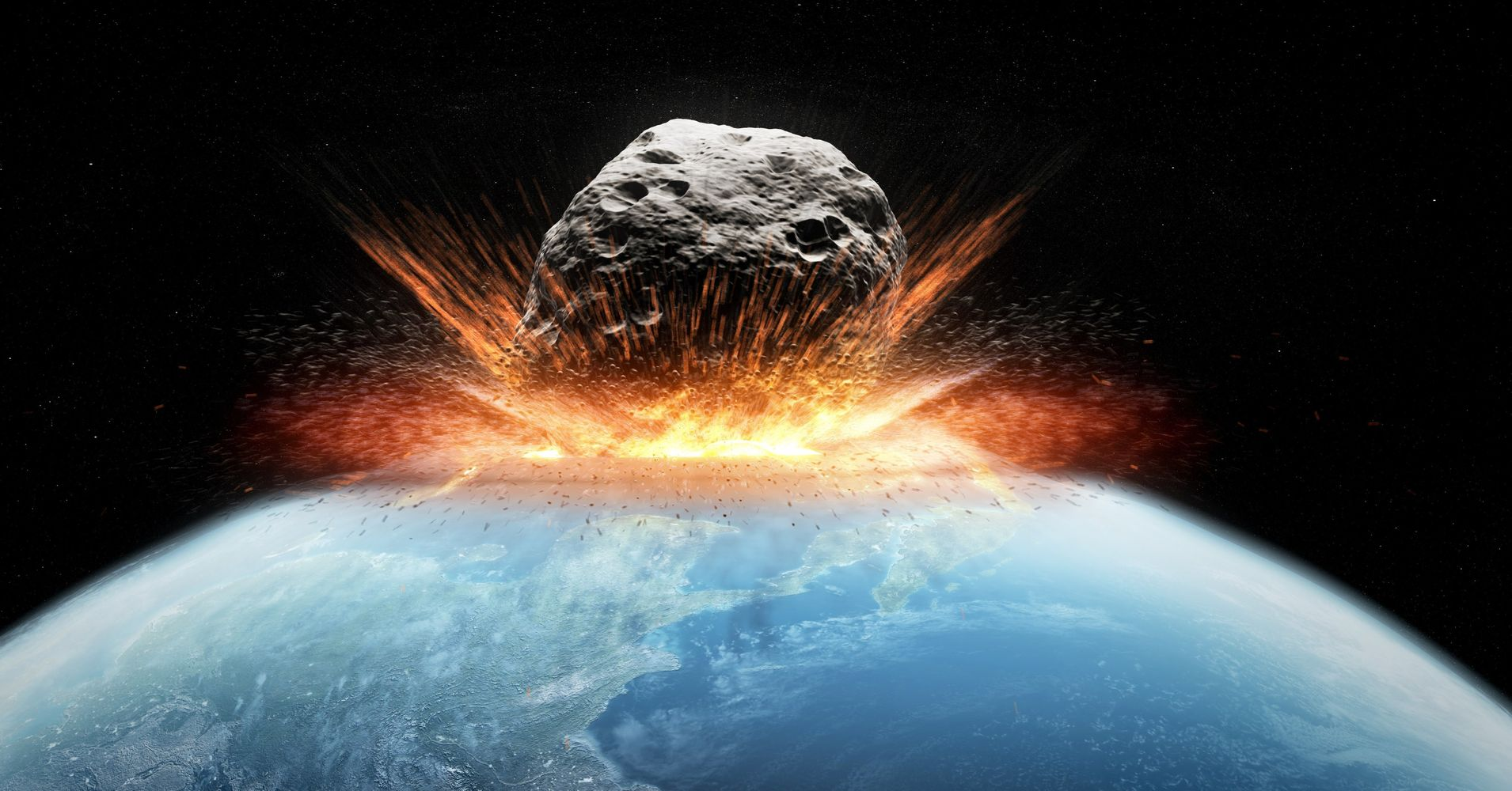 how worried should we be about a huge asteroid hitting earth huffpost